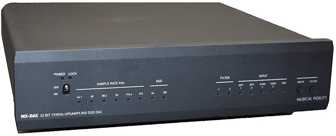 PRZETWORNIK DAC MUSICAL FIDELITY MX-DAC BLACK HIT!