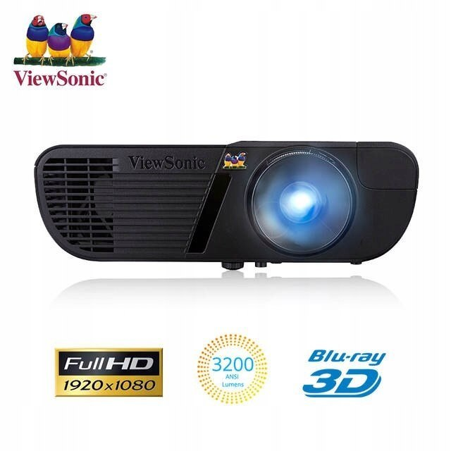 Projektor ViewSonic PJD7720HD FULL HD 3D FV23%