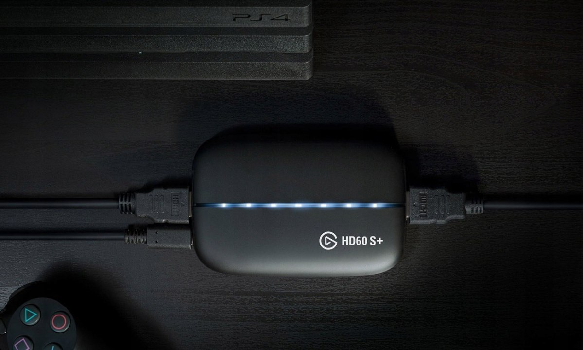 Rejestrator obrazu Elgato Game Capture HD60 S+