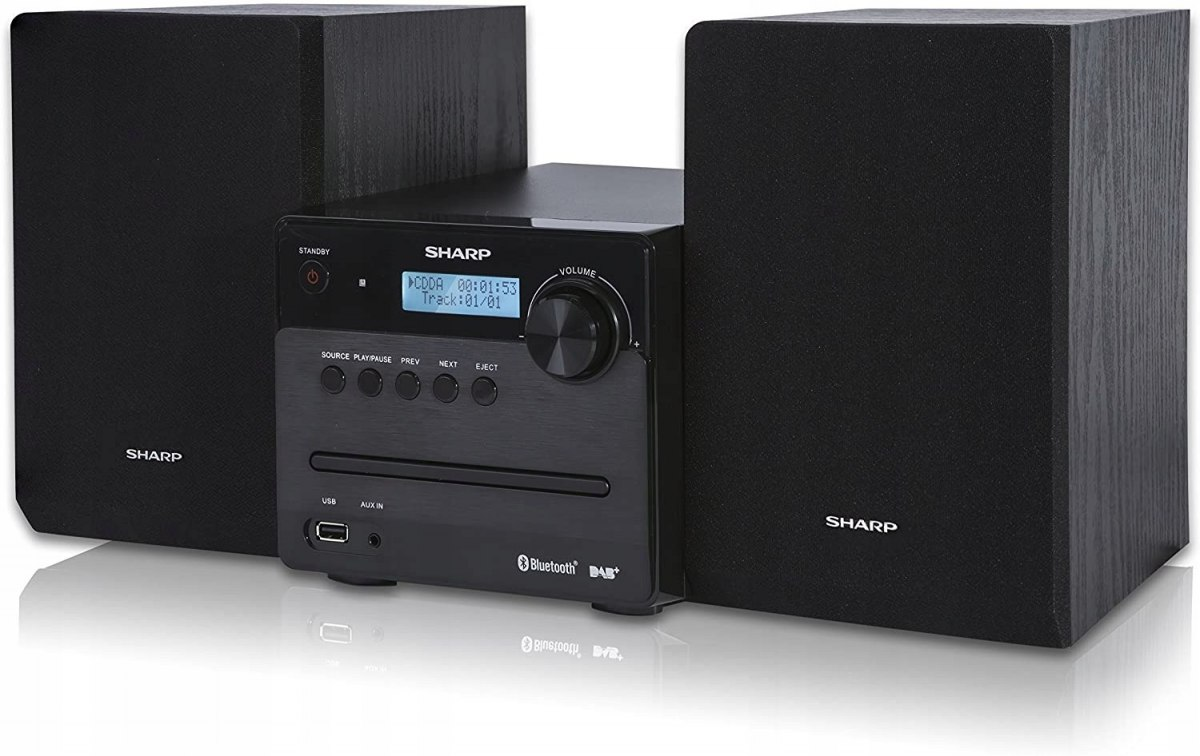 WIEŻA SHARP XL-B515D BT CD DAB+ BLACK OKAZJA HIT!