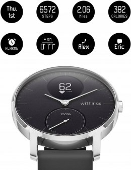 Hybrydowy Smartwatch Withings Steel HR 40mm NOWY!!