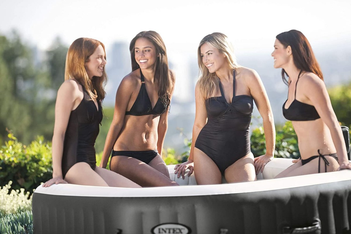 JACUZZI Z HYDROMASAŻEM INTEX 28414 OCTAGON SPA HIT