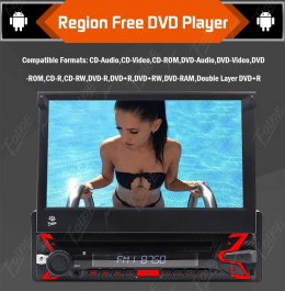 RADIO ANDROID 10.0 AD7029 BT WIFI GPS DVD OKAZJA!